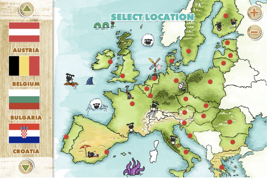 The wrong map of the European Union