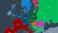 """Word """"snow"""" written in different European languages. Snow in different languages of Europe."""