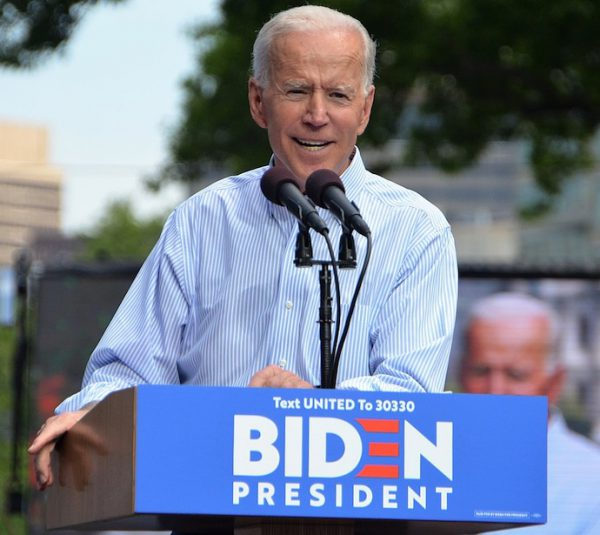 Former Vice President Joe Biden's kickoff rally for his 2020 Presidential campaign. A photo by Michael Stokes.