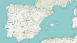 Montoro (Córdoba) sets the highest temperature record for Spain on August 14, 2021.